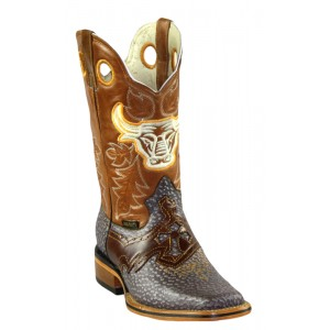 Jugo Boots® 942 Men's Rodeo Boots Wild Boar Walnut (Pull Jar)
