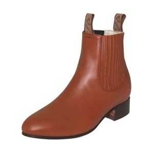 BOTIN CHARRO 1 PIEL DEER MAPLE