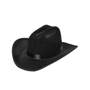SOMBRERO COWBOY EGCBH-1 FELT CLOTH BLACK