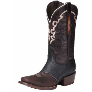 BOTA RODEO EDICION LIMITADA EL GENERAL EDL-RD-4 PIEL CRAZY CHOCO