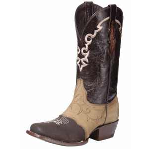 BOTA RODEO EDICION LIMITADA EL GENERAL EDL-RD-2 PIEL CRAZY CHOCO