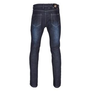 FDJ6350 Men's High Denim Pants Dk Blue