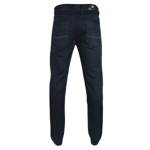 FDP6141 Mens High Quality Fashion Pants Cotton Premium Twill Color: Navy