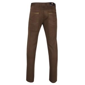 Mens High Quality Fashion Pants 100% Cotton Premium Twill Color: Brown