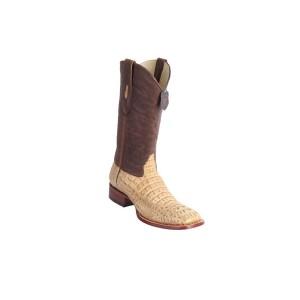 Honey Caiman Hornback Rodeo Boots