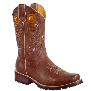BOTA RODEO SUELA TRACTOR CHEDRON HOMBRE