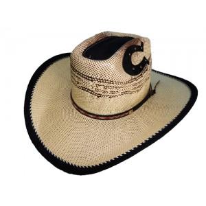 Sombrero papel Beige/Tang