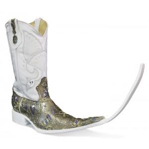 Jugo Boots® 4042 Botas Tribal Bordado Lentejuela Dorado (20 cm)