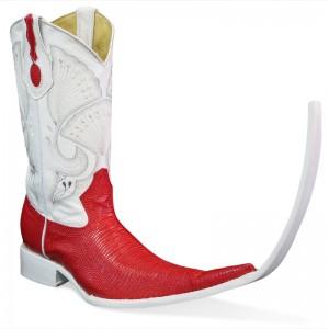 Jugo Boots® 4004 Botas Tribal Lizard Rojo (20 cm)