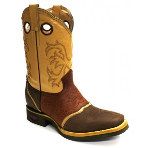 Jugo Boots® 286 Bota de Hombre Rodeo Crazy Wild Apache Café-Cognac