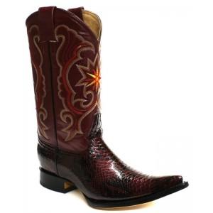 Jugo Boots® 5700 xx Bota de Hombre Vaquera Pitón Twister Vino