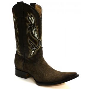 Jugo Boots® 5701XX Bota de Hombre Vaquera Tiburón Slover Café