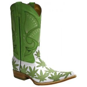 Jugo Boots® 2012 Bota de Hombre Vaquera Motitas Pistache