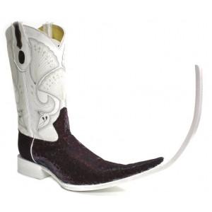 Jugo Boots® Bota Tribal de Hombre Mármol Vino (20 cm)