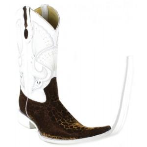 Jugo Boots® Bota Tribal de Hombre Mármol Café (20 cm)
