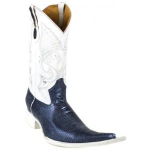 Jugo Boots® 4004 Bota de Hombre Vaquera Lizard Azul