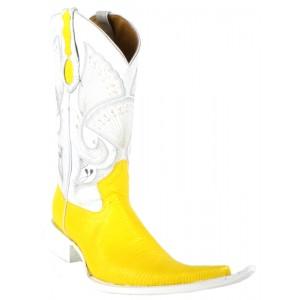Jugo Boots® 4004 Bota de Hombre Vaquera Lizard Amarillo
