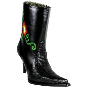 JUGO Boots® 015 Botineta de Mujer - Plasma Lagarto