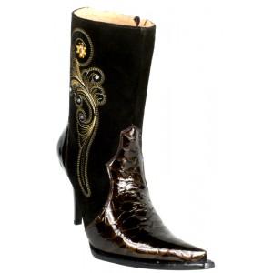 JUGO Boots® 015 Botineta de Mujer Sol Cato Café