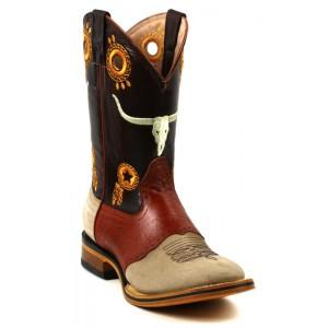 Jugo Boots® 235 Bota de Hombre Rodeo Alamo/Apache Arena-Cognac