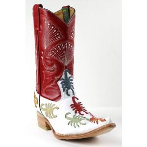 Jugo Boots® 8016 Bota de Hombre Vaquera Alacrán Payaso