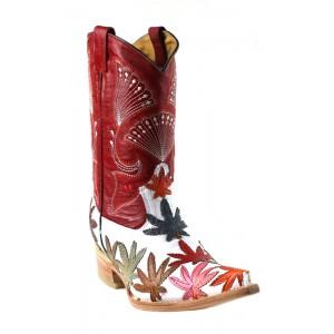 Jugo Boots® 2012 Bota de Hombre Vaquera Motitas Payaso