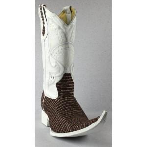 Jugo Boots® 4023 Bota de Hombre Vaquera Rayas Café