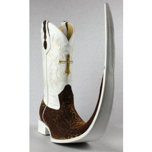 Jugo Boots® 8003 Bota de Hombre Tribal Marmól Café X Puntal (30 cm)