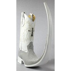 Jugo Boots® 8003 Bota de Hombre Tribal Marmól Plata X Puntal (30 cm)