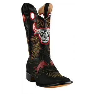 Jugo Boots® 927 Bota de Hombre Rodeo Crazy Jar Negro