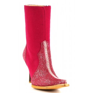 JUGO Boots® 012 Botineta de Mujer Mantarraya Reyna Diamante Fiusha