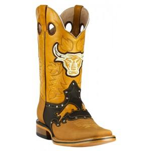 Jugo Boots® 947 Bota de Hombre Rodeo Crazy Jar Chocolate