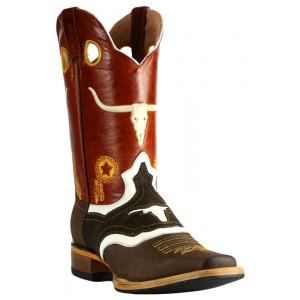 Jugo Boots® 925 Bota de Hombre Rodeo Crazy Jar Café