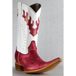 Jugo Boots® 9900EX Bota de Hombre Vaquera Luna Rosa