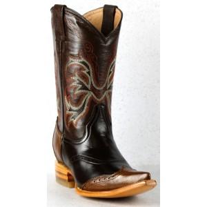 JUGO Boots® 6728 Bota Vaquera de Mujer Pull up Choco