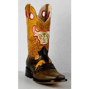 Jugo Boots® 927 Bota de Hombre Rodeo Grinta Café Campera