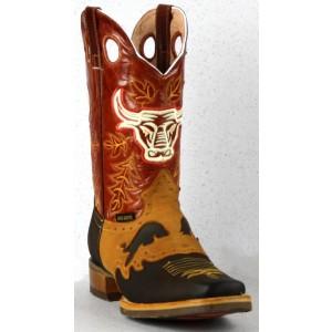 Jugo Boots® 907 Bota de Hombre Rodeo Crazy Jar Miel