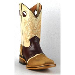 Jugo Boots® 285 Bota de Hombre Rodeo Alamo Pull Up Curry-Shedron