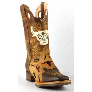 Jugo Boots® 903 Bota de Hombre Rodeo Crazy Jar Miel