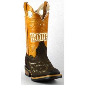 Jugo Boots® 269 Bota de Hombre Rodeo Grifo Café