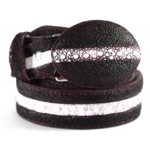 Jugo Boots® Cinto de Hombre Mantarraya Vino