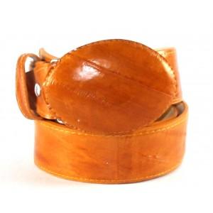 Jugo Boots® Cinto de Hombre Anguila Miel