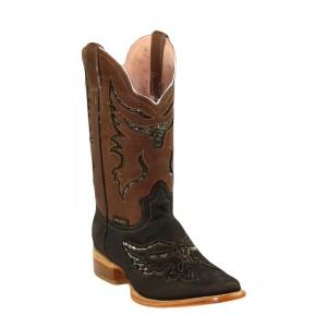 Jugo Boots® 943 Bota de Hombre Rodeo Crazy Jar Chocolate