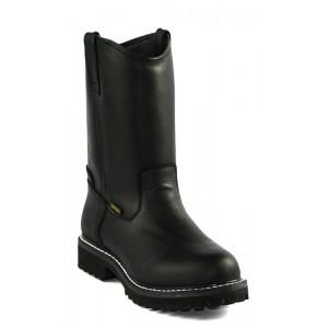 Jugo Boots® 103 Bota de Hombre Napa Bull Negro