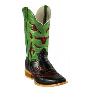 Jugo Boots® 923 Bota de Hombre Rodeo Barroco Negro