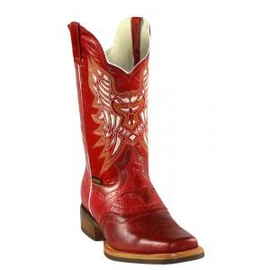 Jugo Boots® 289 Bota de Hombre Rodeo Harman Rojo