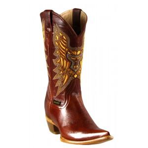 JUGO Boots® 4700 Bota de Mujer Bisonte Cognac