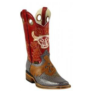 Jugo Boots® 942 Bota de Hombre Rodeo Jabalí Café (Pull Jar)