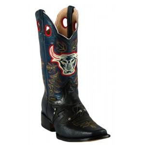 Jugo Boots® 928 Bota de Hombre Rodeo Grinta Azul (Harman)