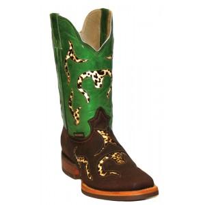 Jugo Boots® 903 Bota de Hombre Rodeo Crazy J Chocolate (cera)